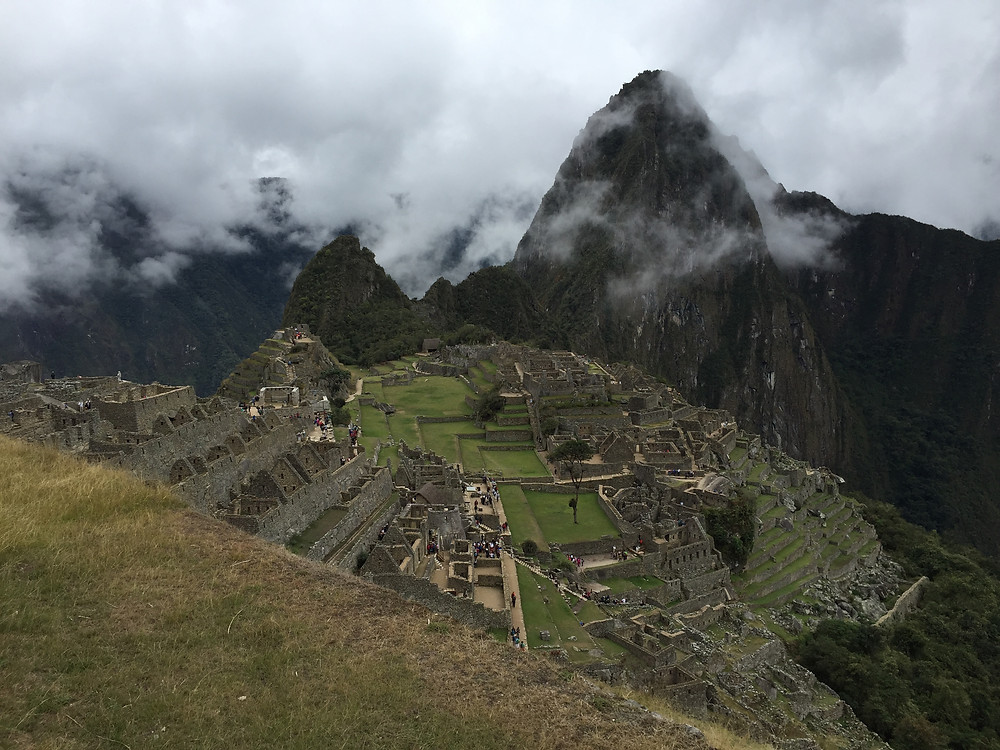 The World Heritage listed Machu Picchu.