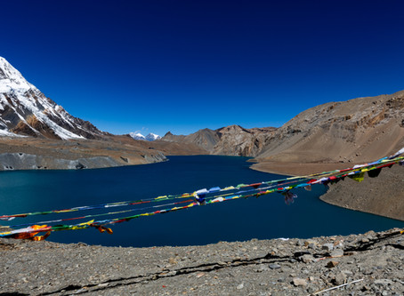 Day 12 - Trek to Tilicho Lake (4990m) - 6hrs and back to Shreekharka (4072m) - 2.5hrs