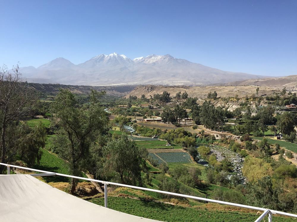 Scenery of Arequipa