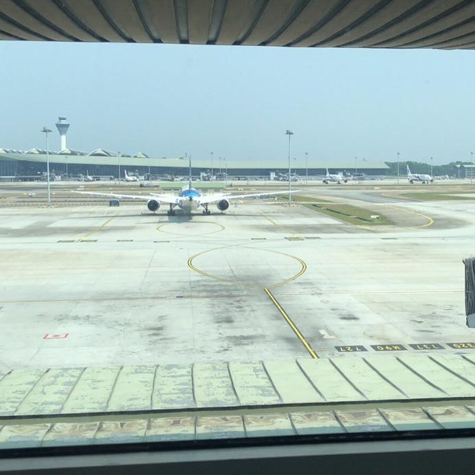 View from Sama Sama Express room