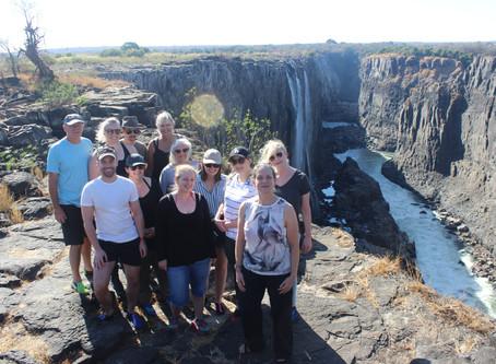 Day 8 - Victoria Falls - A swim in the Falls