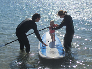 summer 2014 in SUP in St Mawes!
