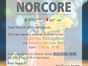 NorCore Summer Reception 2018