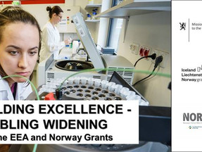 Building Excellence - Enabling Widening with the EEA and Norway Grants