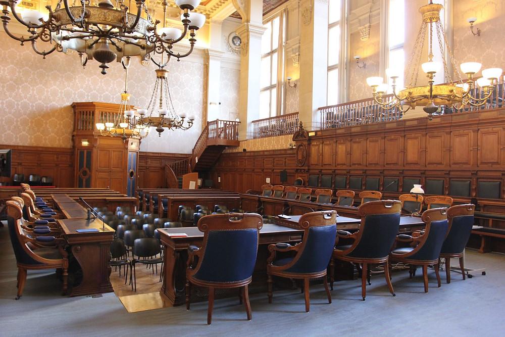 Première chambre Cour d'Appel Paris