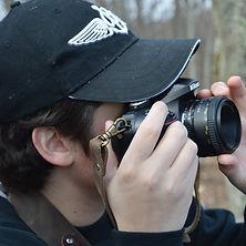 Jonnie Zuramski taking a photo