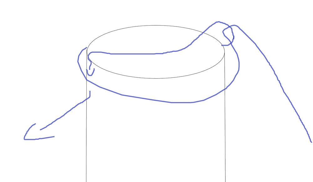 205L Drum Strap example