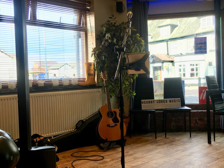 Race Nights, The Hilton, Songwriting and Seann Walsh