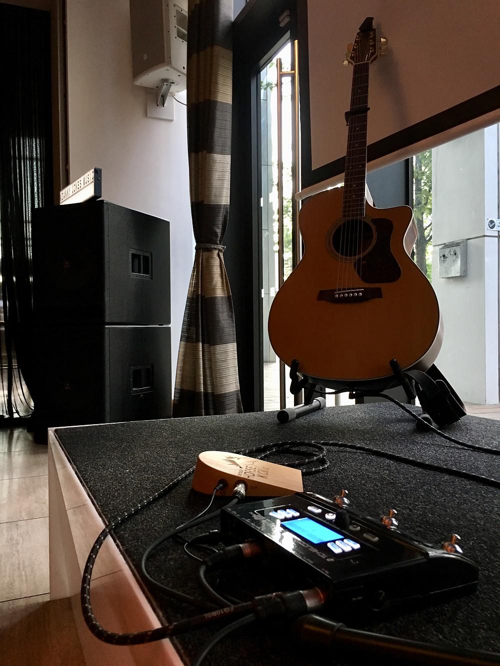 Danny Jones Music at The Hilton, Liverpool.