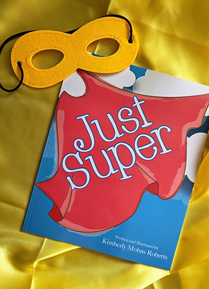 Just Super Hardcover & mask/cape set