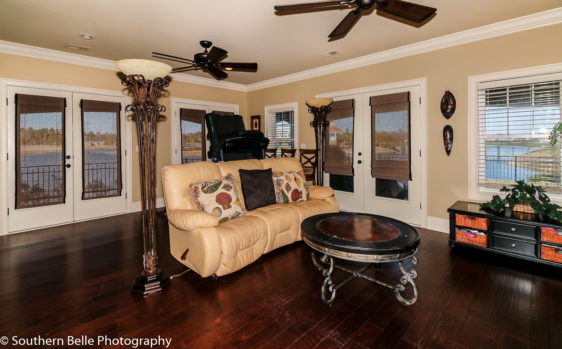 10. Lower Level Family Room with Lake Views and Patio WM