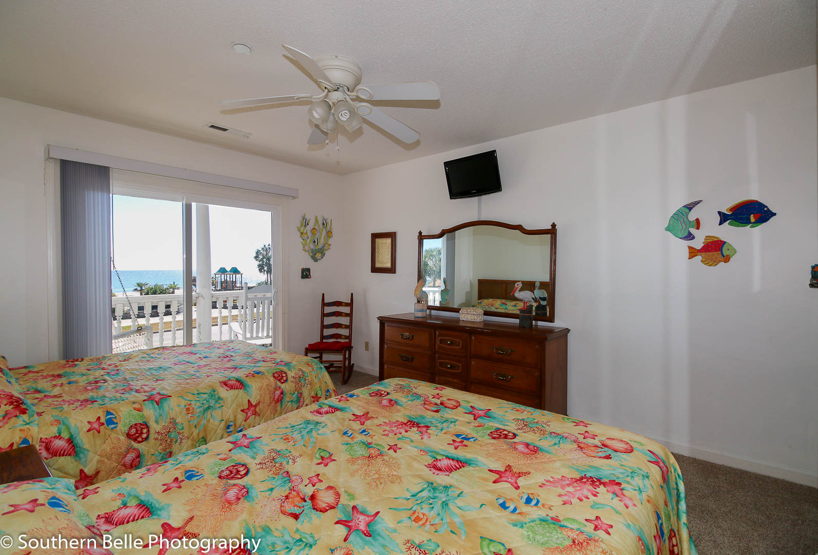 18. Master Bedroom With Ocean Views WM