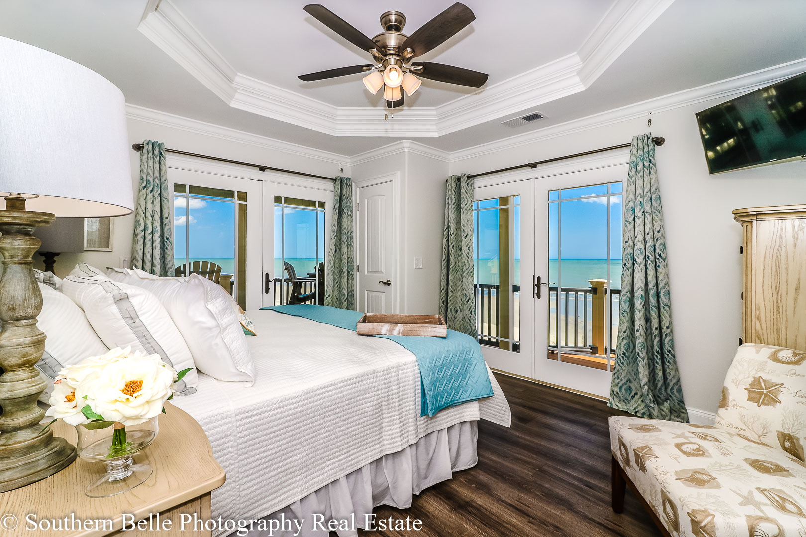 21. Master Bedroom with Ocean View WM