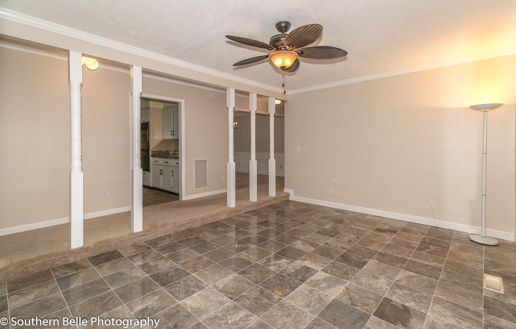 20.. Formal Living Room with Built-ins and Firepalce WM