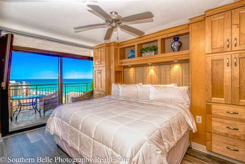 12. Master Bedroom with Ocean Views LHDR