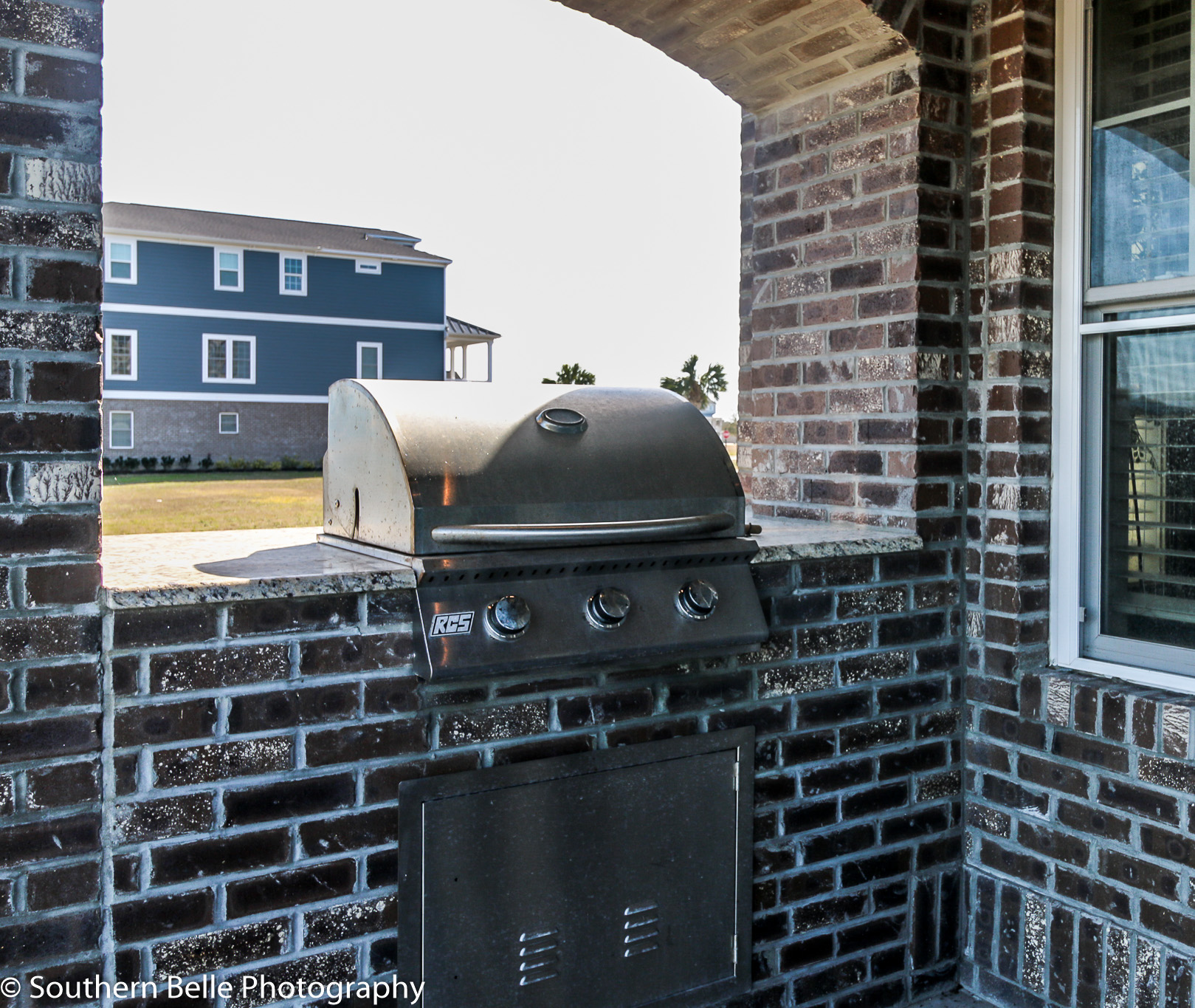 50. Built in Grill Lower Level Patio WM
