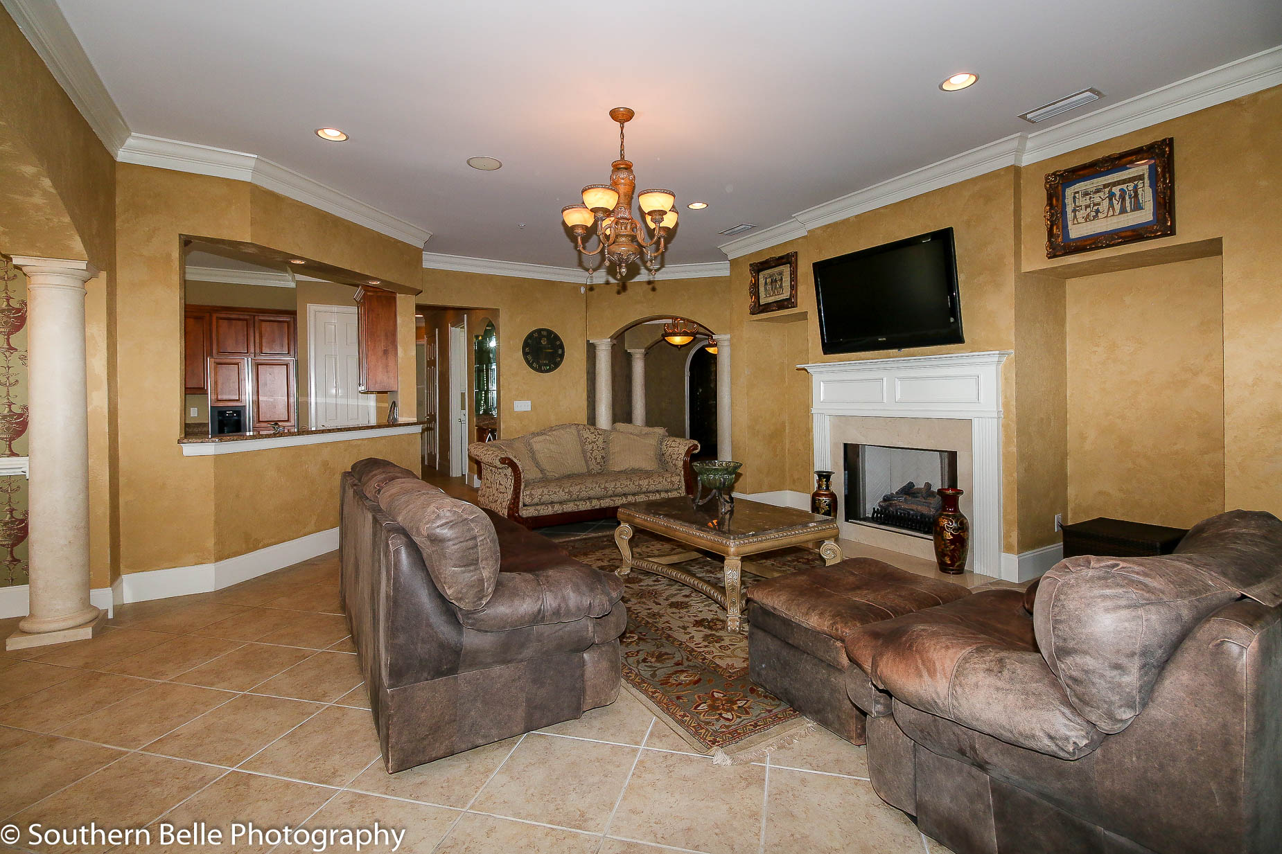 7. Formal Living Room w- Fire Place WM