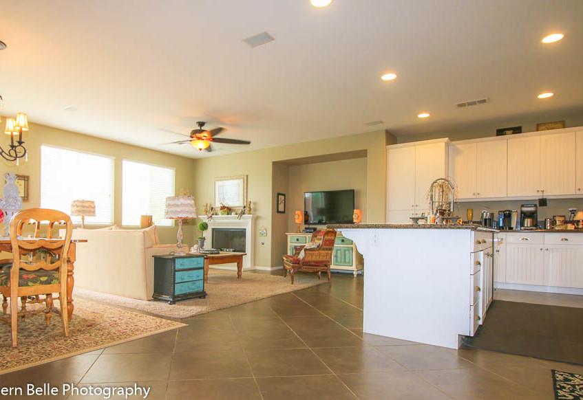 3. Open Kitchen-Dinning-Living Area WM