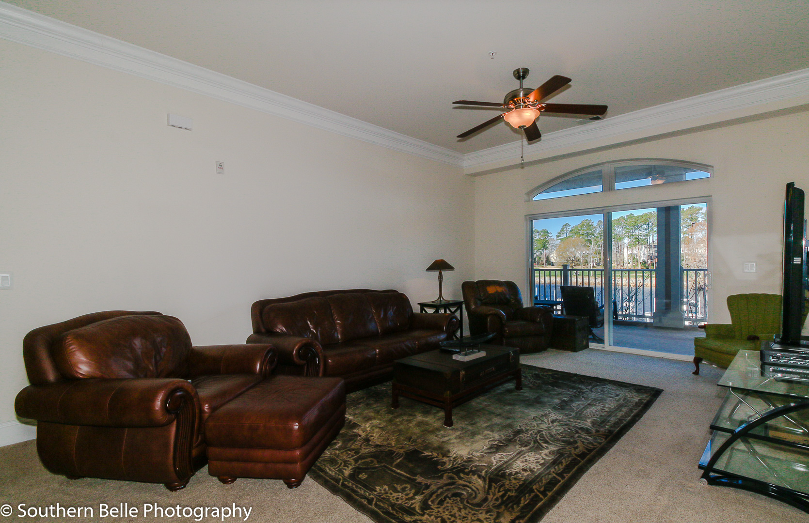 11. Living Area with Intercoastal and golf View WM