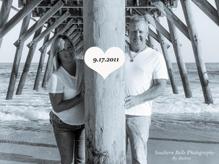 David & Tiffany's Anniversary Photo Session