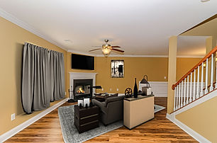12. Formal Living Room with Fireplace Vi