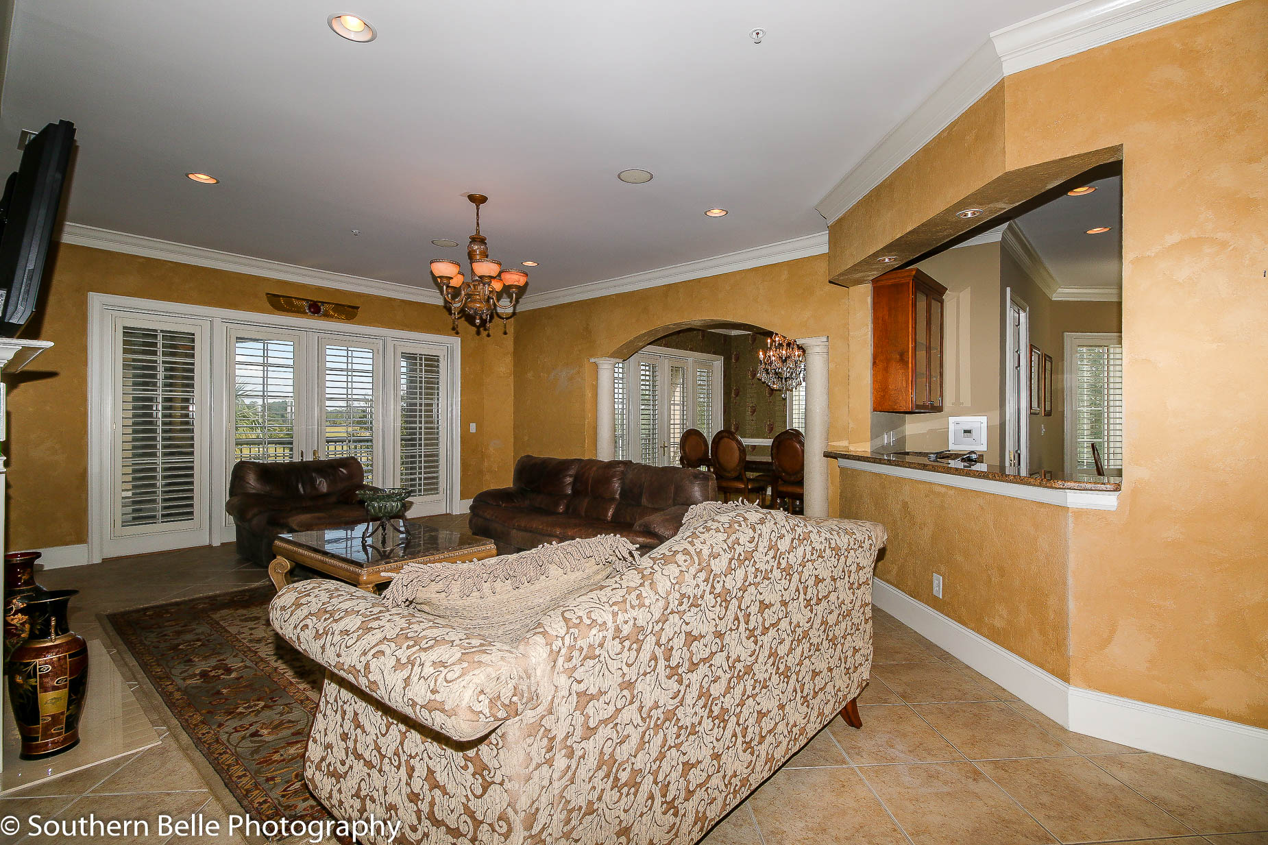 5. Formal Living Room w- Golf Course Views WM