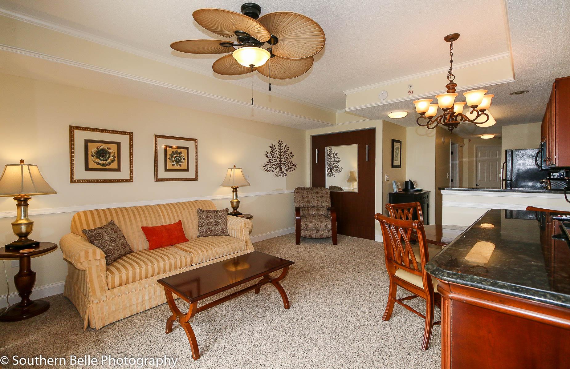 15. Living Room & Kitchen View WM