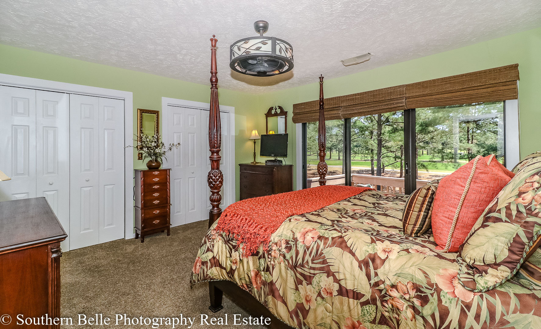23. Master Bedrom with Golf Course Views WM