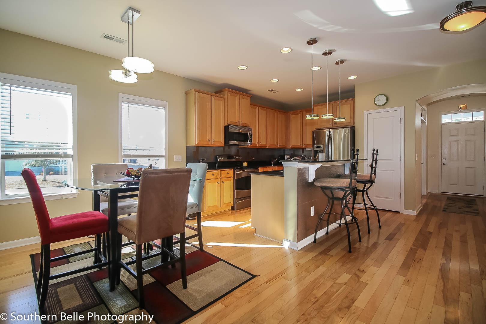 8. Kitchen- Dinning View WM