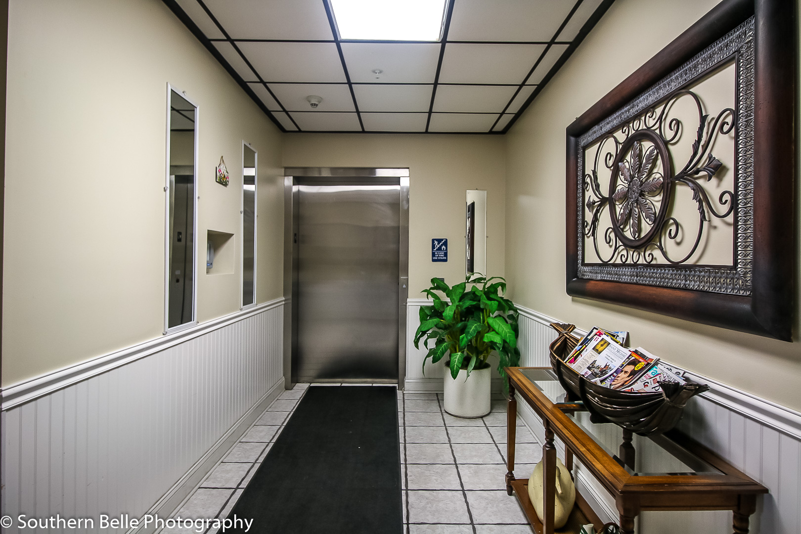 2. Lobby Elevator Entry WM