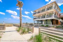 4. Beach Access Exterior View WM