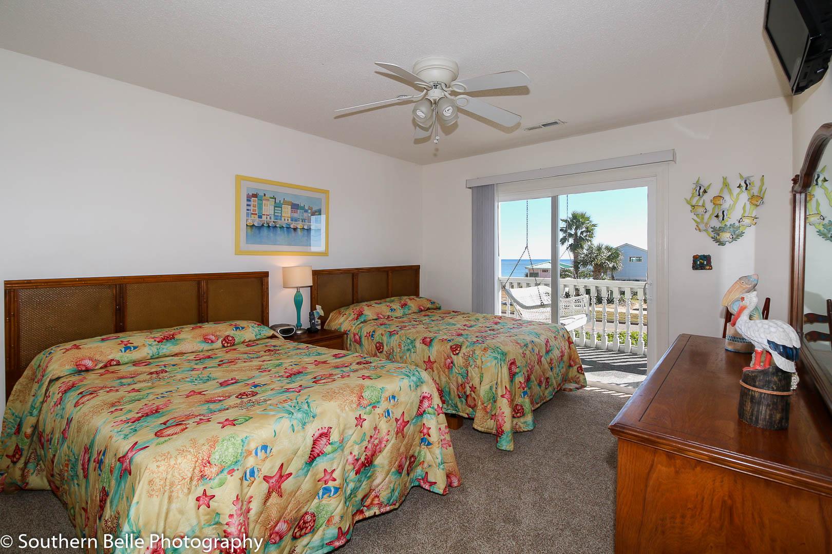 16. Master Bedroom With Ocean Views WM