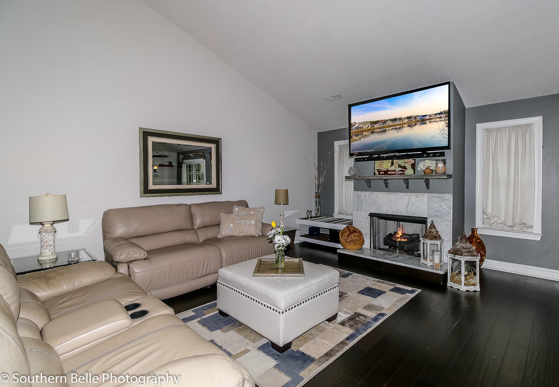 9. Living Room w- Fireplace View Update WM