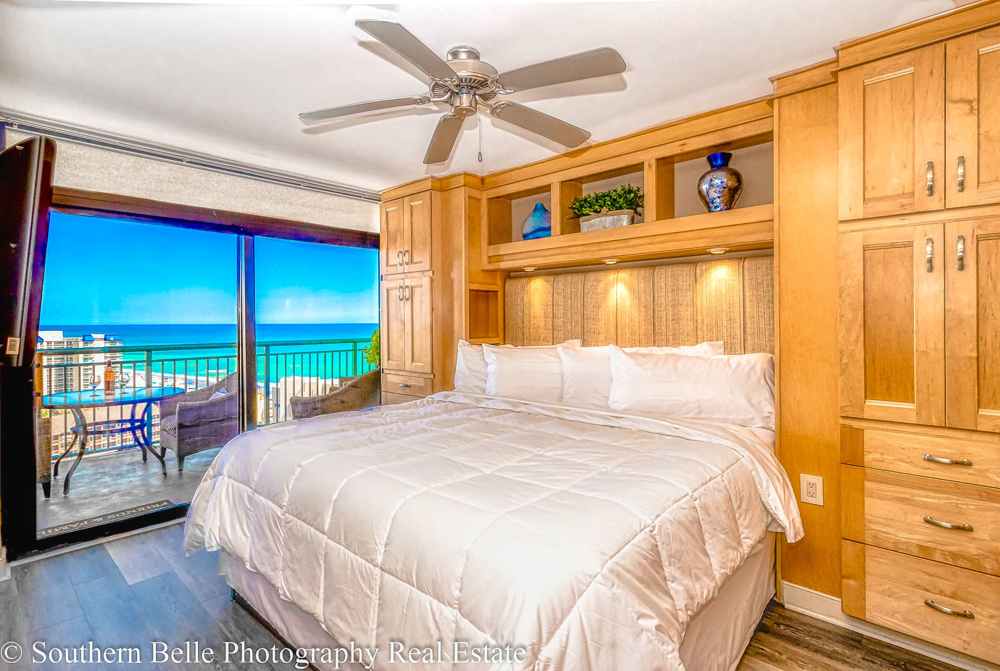 12. Master Bedroom with Ocean Views WM