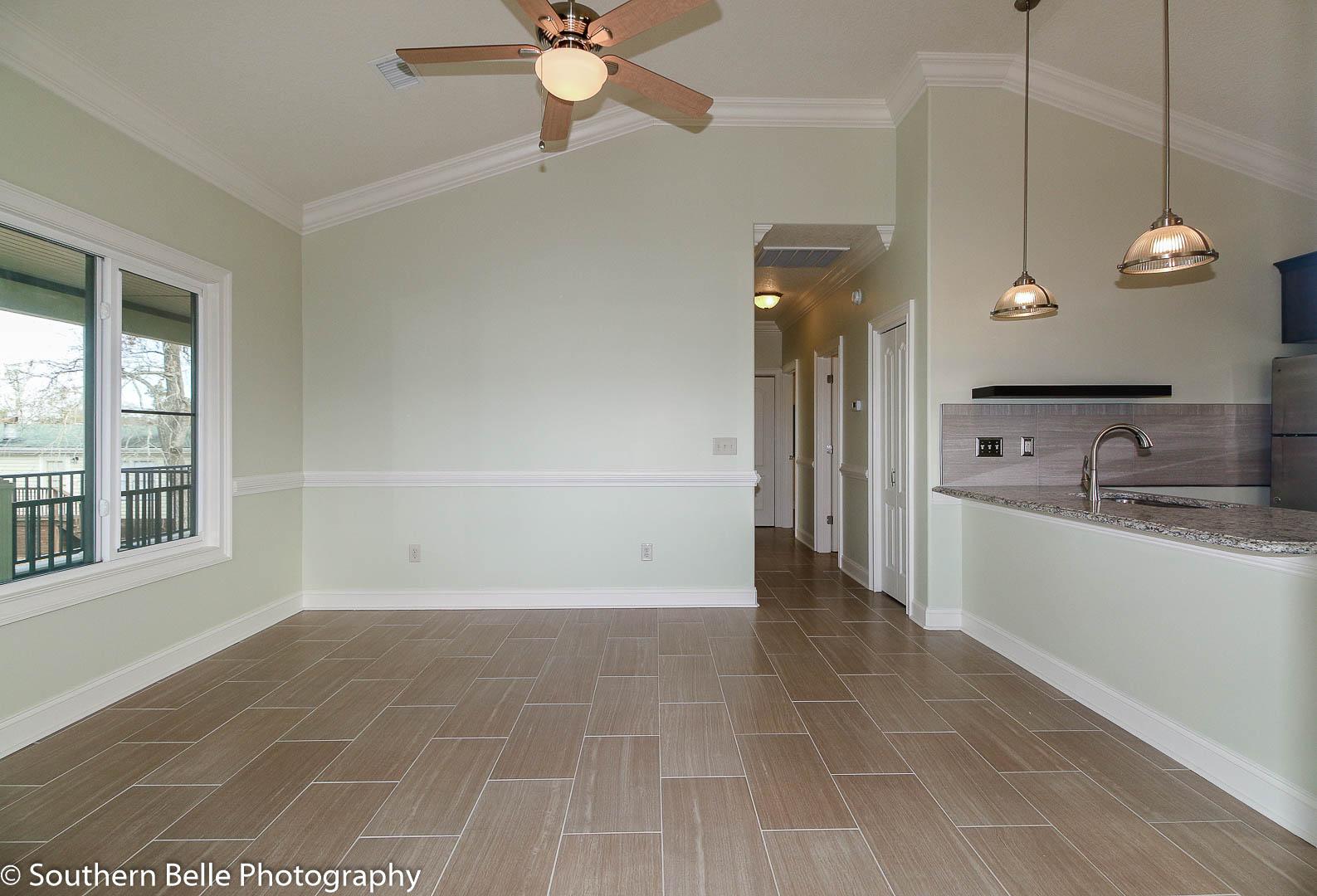 5. Front Entrance Living Room- Kitchen WM