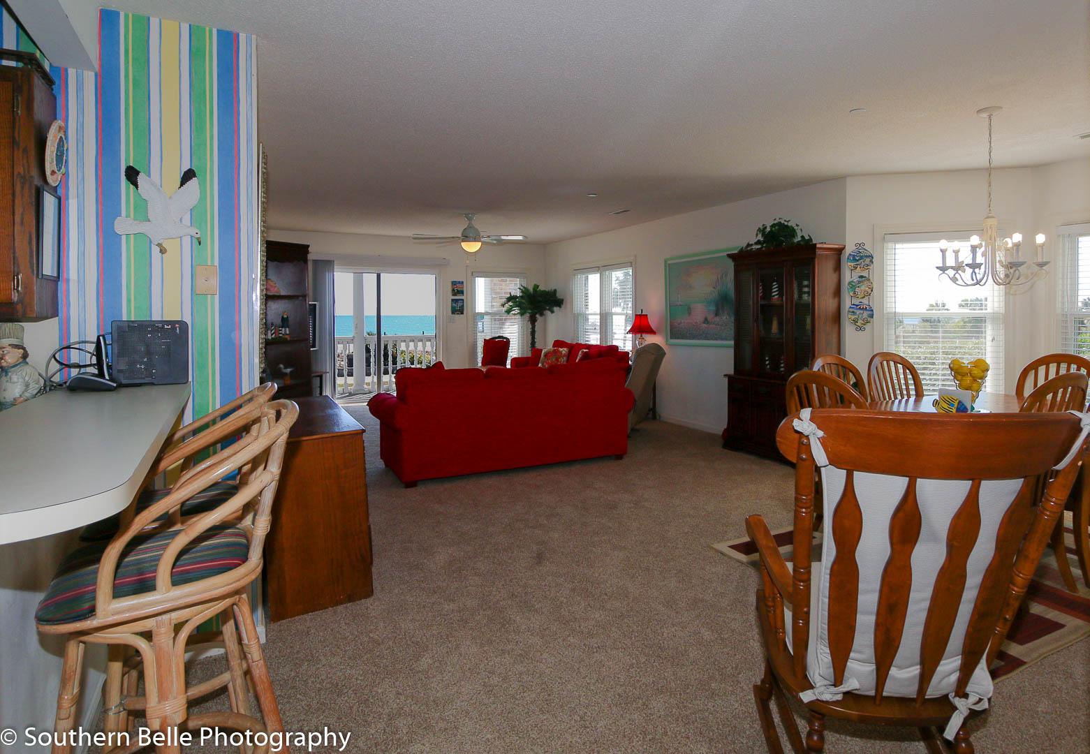 4. Dinning-Living Room- with Ocean Views WM