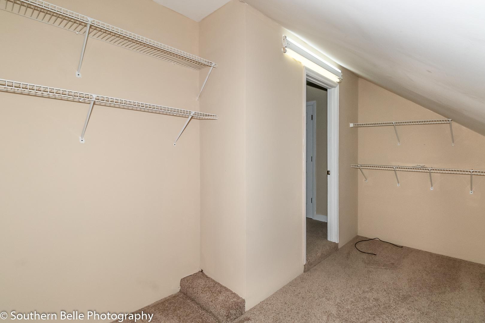 22. Bedroom Three Walk in Closet WM