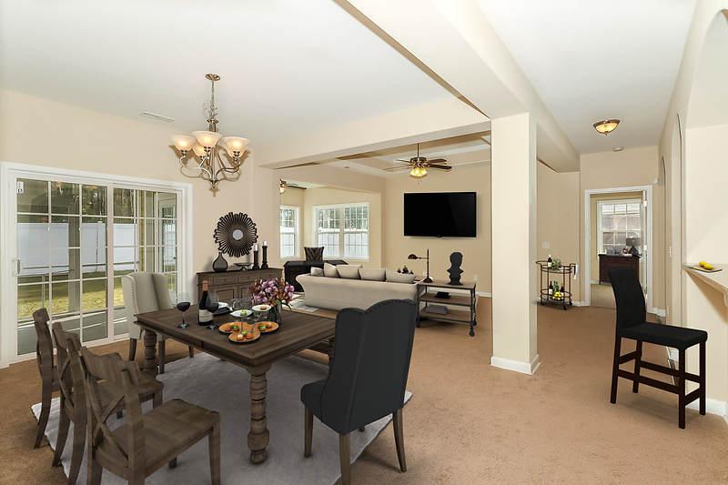 5. Formal Dining, Living, Carolina Room