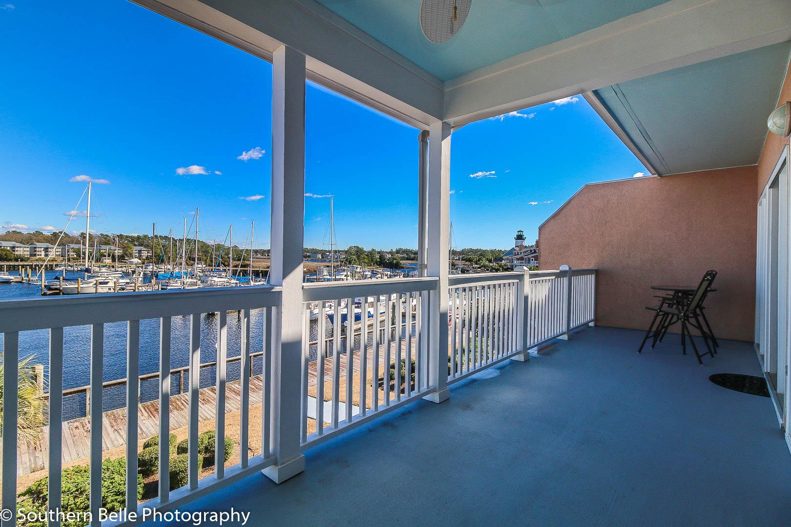 18. Master Bedroom Balcony View of Intercoastal WM