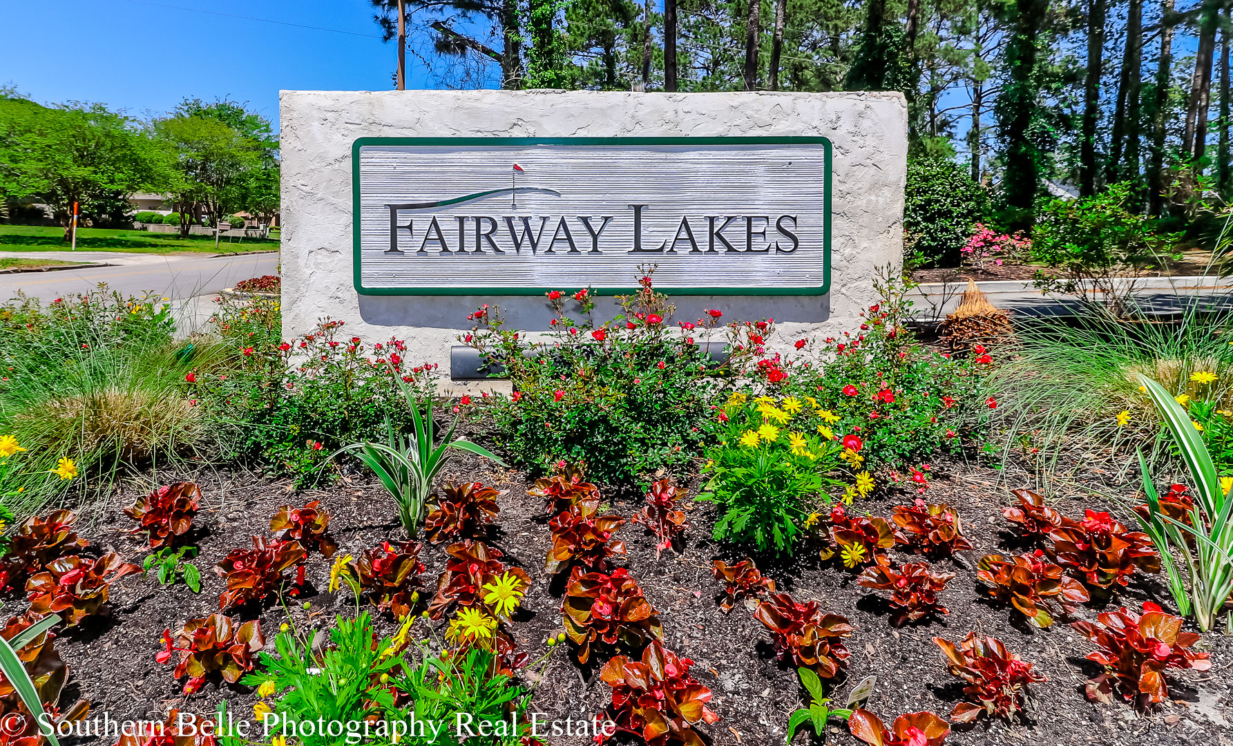 1. Fairway Lakes Sign Entrance WM