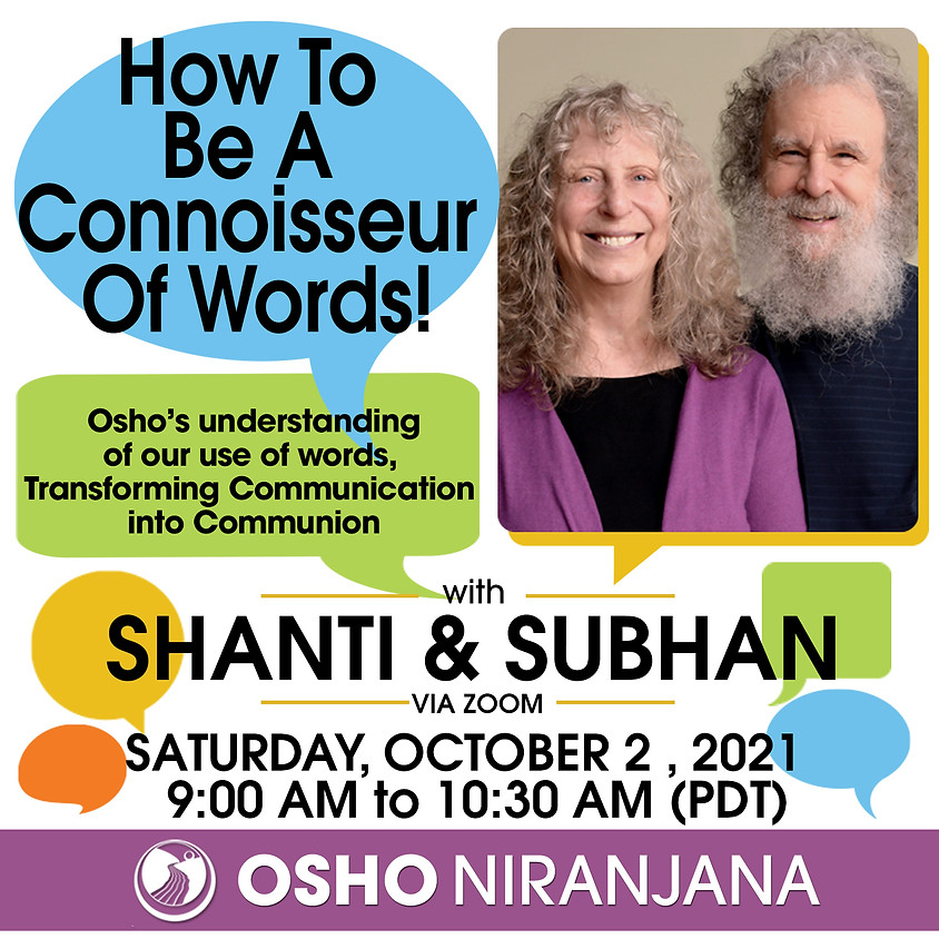 How to Be a Connoisseur of Words!