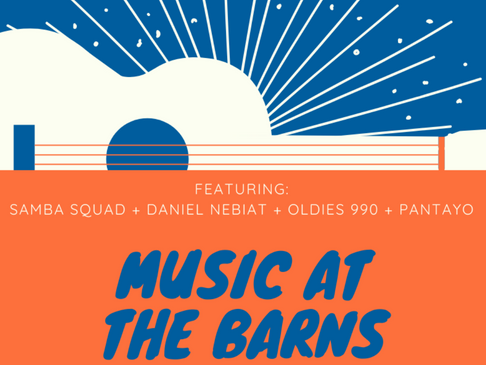 WBCA Music at the Barns Event: September 18th 4pm- 9pm