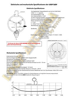 German Electrical and mechanical specifi