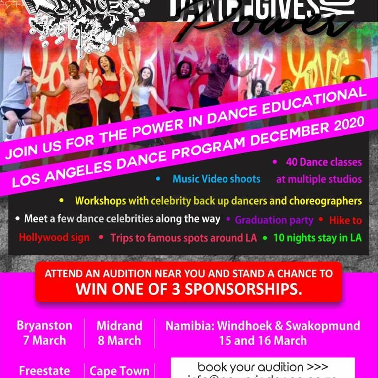 Power in Dance 2021 Auditions