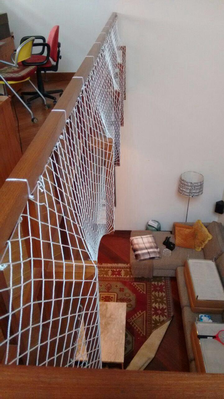 Redes de Proteção para Escadas