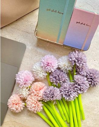 Chrysanthemum Pen - Pink