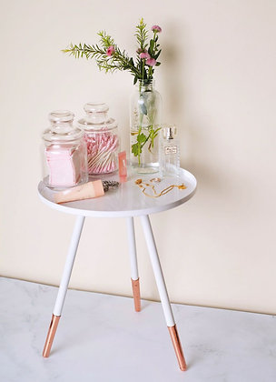 Foldable Coffee Table - Rose Gold