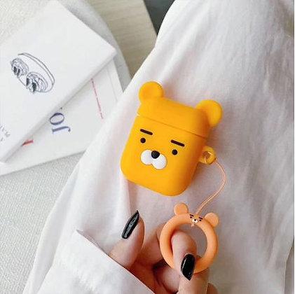 AirPods Case - Yellow Bear