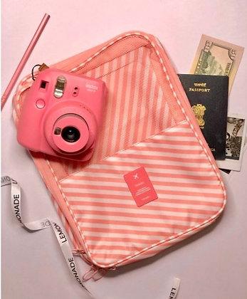 Shoe Bag Organizer - Pretty Pink