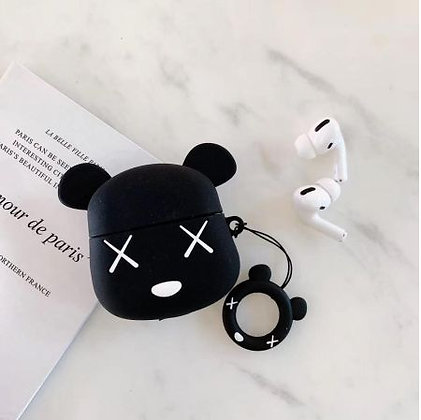 AirPods Case - Black Mouse